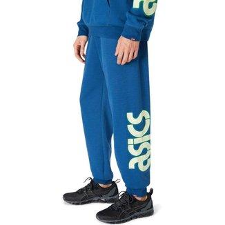 Calça ASICS SPS - Masculina - Azul - tam: M Asics