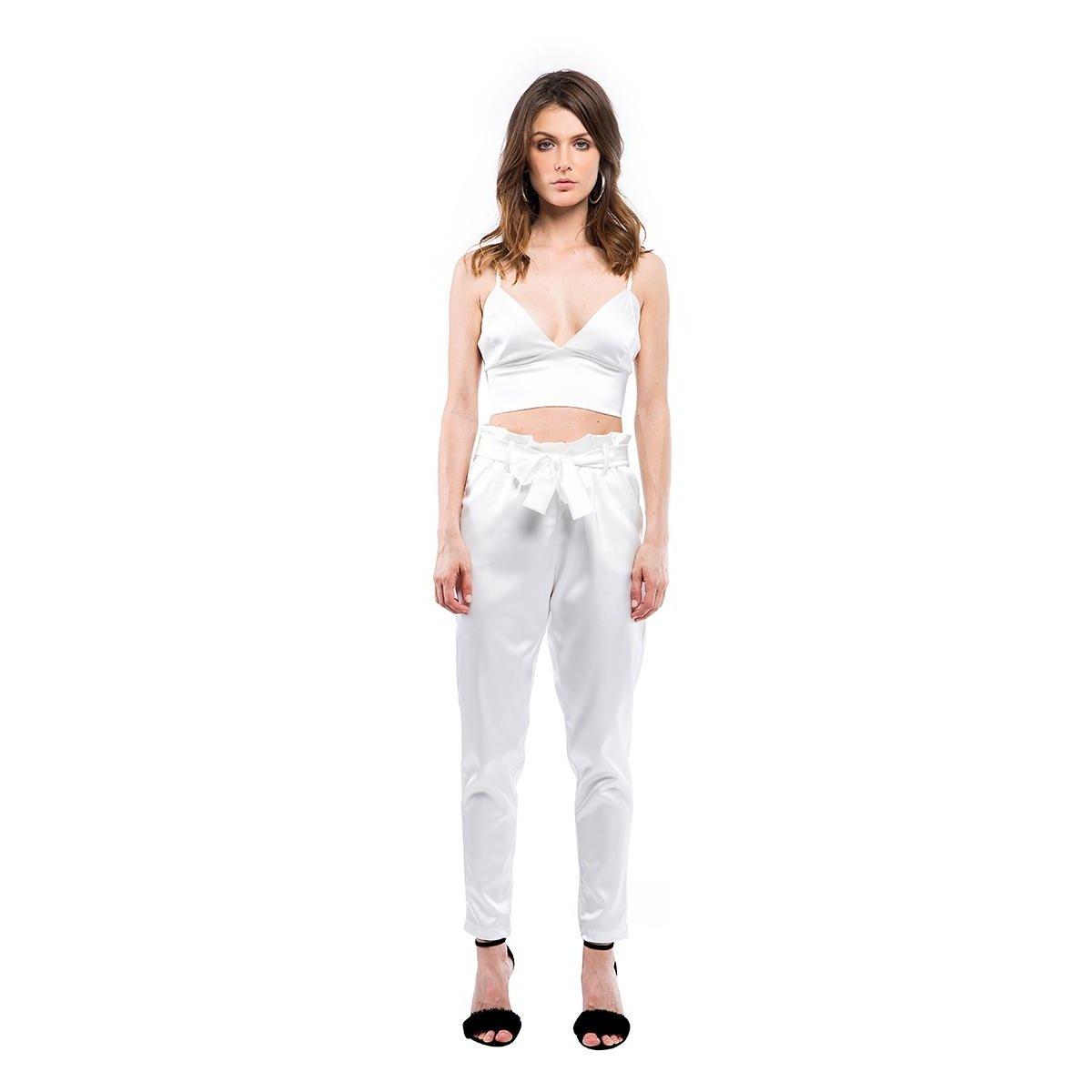 866388e239 Calça Cetim Walk Trendy Feminino - Compre Agora