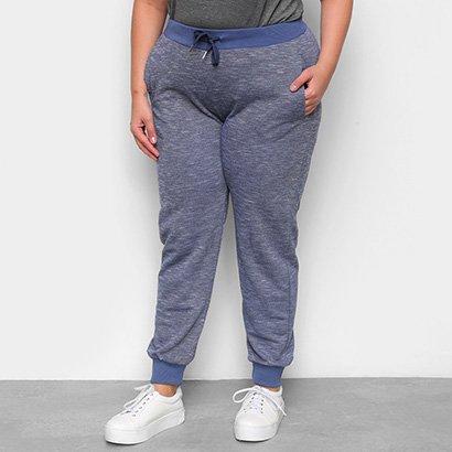 Calça City Lady Jogger Plus Size Feminina