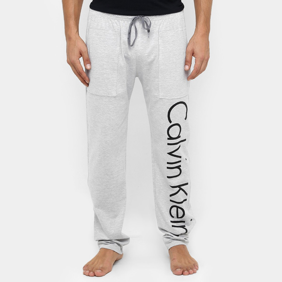a9307bcba245d Calça De Pijama Calvin Klein Logo ID - Compre Agora   Zattini