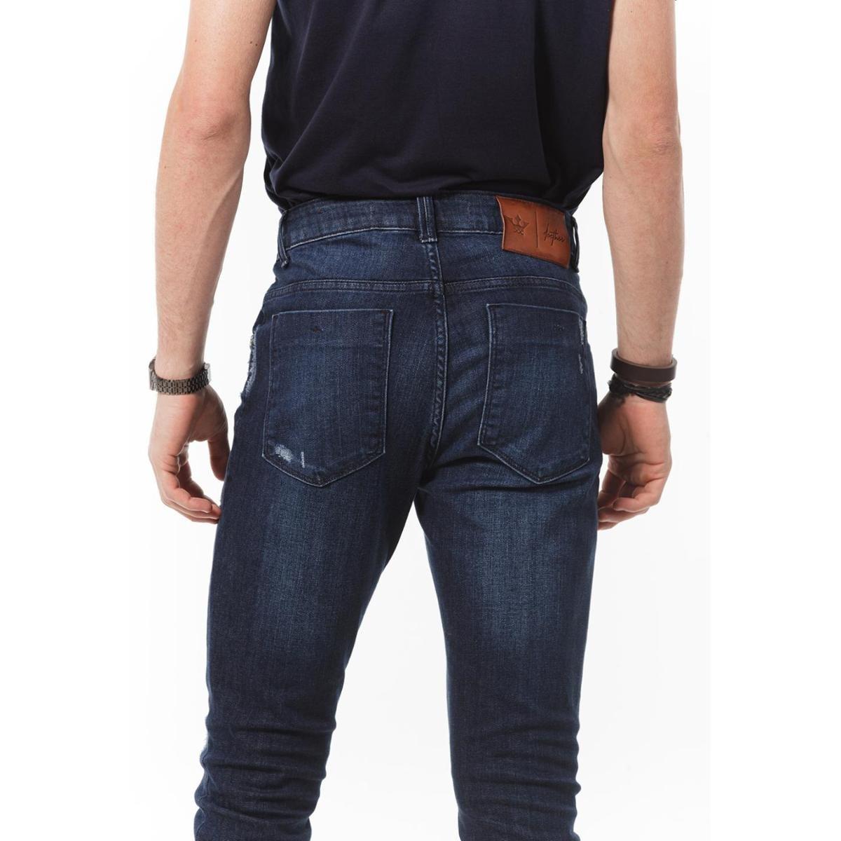 Calça Docthos Jeans Masculino - Azul