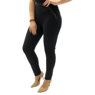 Calça facinelli montaria skinny interno veludo feminina