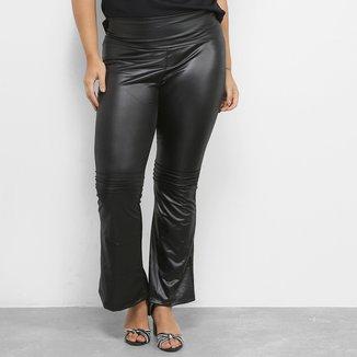 Calça Flare Blomma Plus Size Feminina