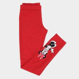 Calça Infantil Disney Minnie Shame Feminina