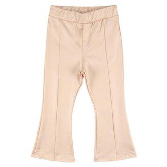 Calça Infantil Look Jeans Flare Feminina