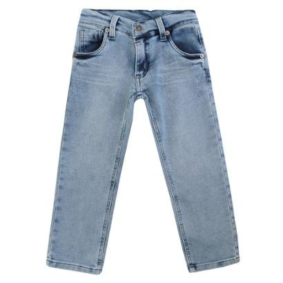 Calça Infantil Moletinho Jeans 1mais1 Masculina