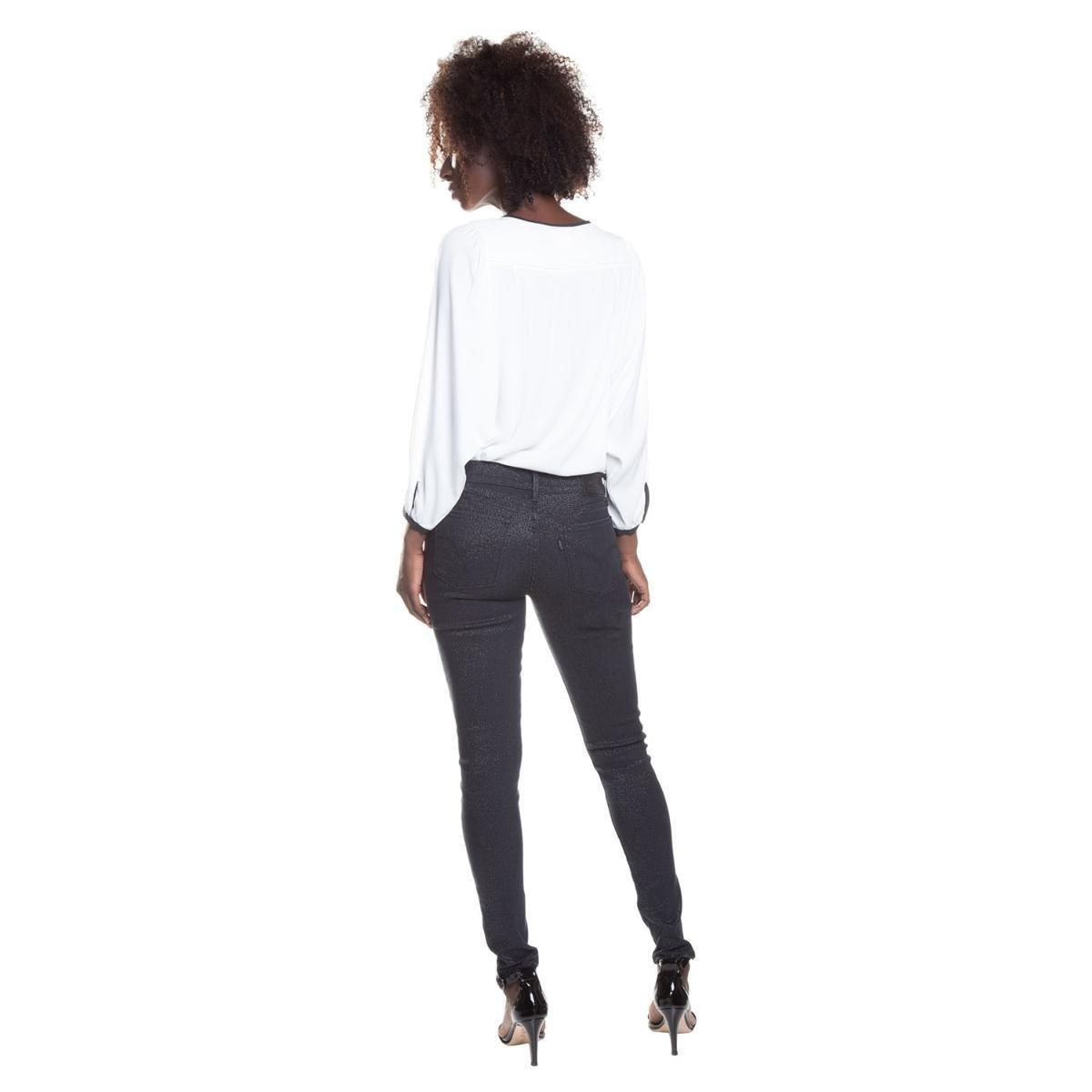 Calça Jeans 710 Super Skinny Levis - Compre Agora  1df77a440d4