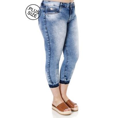 Calça Jeans Amuage Plus Size Feminina-Feminino