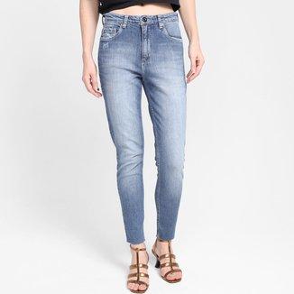 Calça Jeans Animale Skinny Midi Barra a Fio Feminina