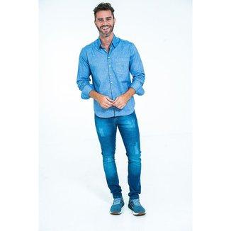 Calça Jeans Básica Time Line - 48