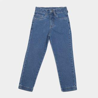 Calça Jeans Bebê Malwee Básica  Masculina