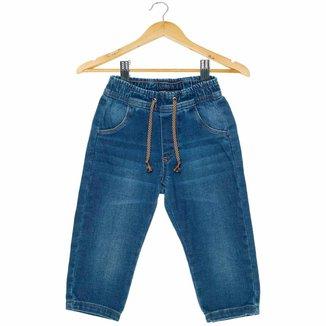 Calça Jeans Bebê  Mania Kids Masculina