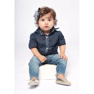 Calça Jeans Bebê MRX Feminina