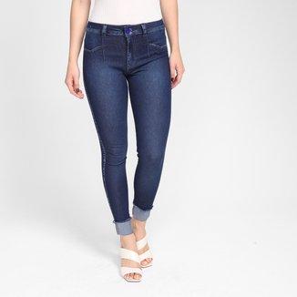 Calça Jeans Biotipo Cintura Média Feminina