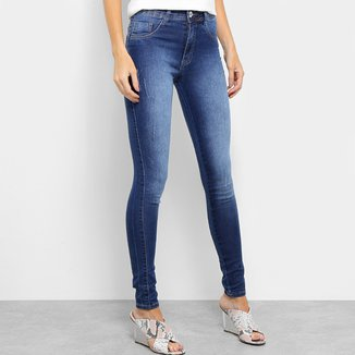 Calça Jeans Biotipo Melissa Skinny Puídos Confort Feminina