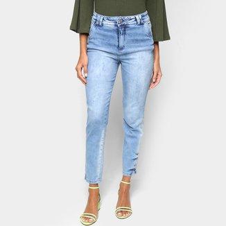 Calça Jeans Biotipo Mom Midi Feminina