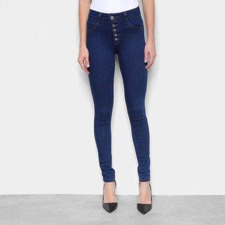 Calça Jeans Biotipo Skinny Cintura Média Feminina
