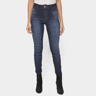 Calça Jeans Biotipo Skinny Escura Feminina