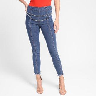 Calça Jeans Biotipo Skinny Midi Feminina