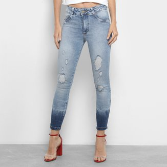 Calça Jeans Biotipo Skinny Pluídos Feminina