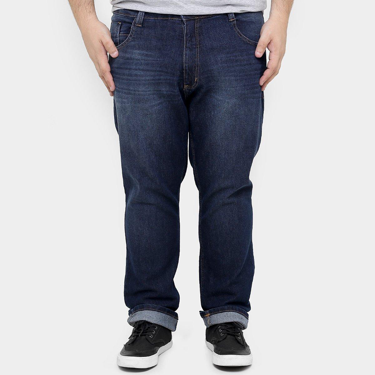 d3708bc1a Calça Jeans Biotipo Slim Stone Plus Size Masculina - Compre Agora | Zattini