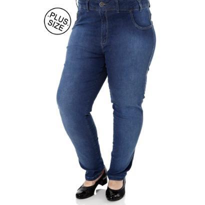 Calça Jeans Bivik Plus Size Feminina-Feminino