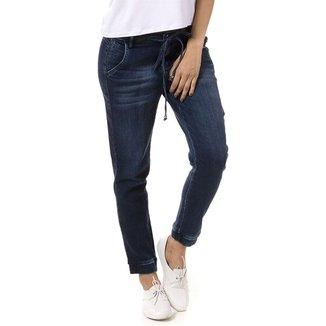 Calça Jeans Bloom Jogger Feminina