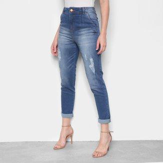 Calça Jeans Boyfriend Biotipo Rasgos Feminina