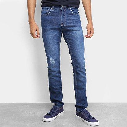 Calça Jeans Calvin Klein Five Pock Slim Straight Masculina
