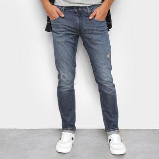 Calça Jeans Calvin Klein Rasgada Masculina
