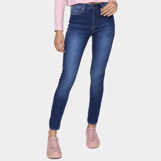 Calça Jeans Calvin Klein Skinny Feminina - Azul