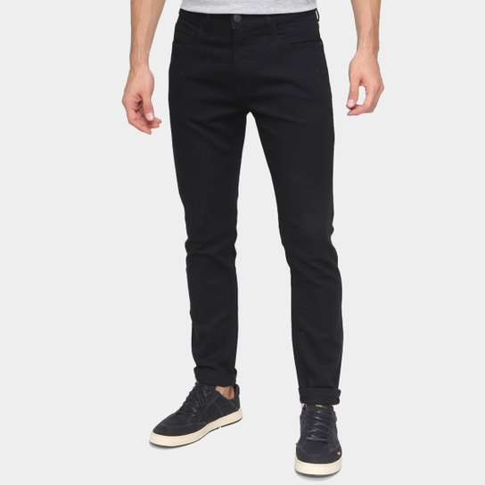 Calça Jeans Calvin Klein Skinny Masculina - Preto