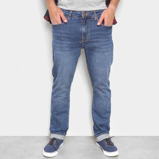 Calça Jeans Calvin Klein Slim Masculina - Azul