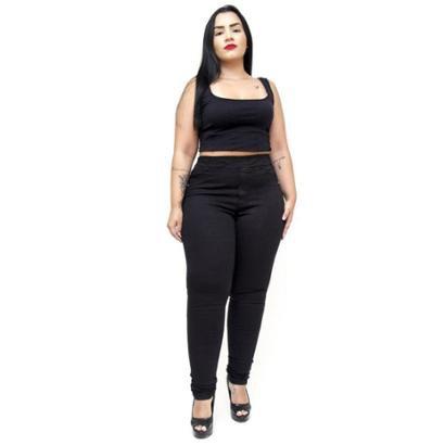 Calça Jeans Cambos Plus Size Skinny Letice Feminina-Feminino