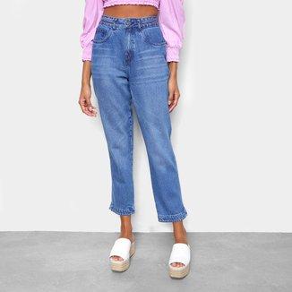 Calça Jeans Cantão Mom Vintage Feminina