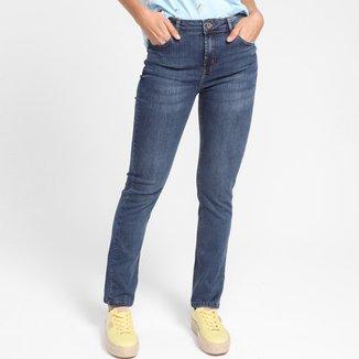 Calça Jeans Cantão Reta Comfort Feminina