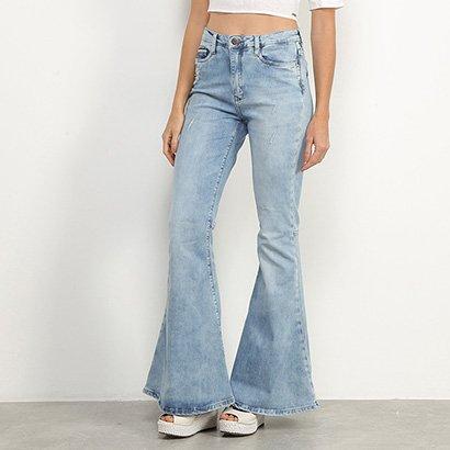Calça Jeans Carmim Flare Feminina