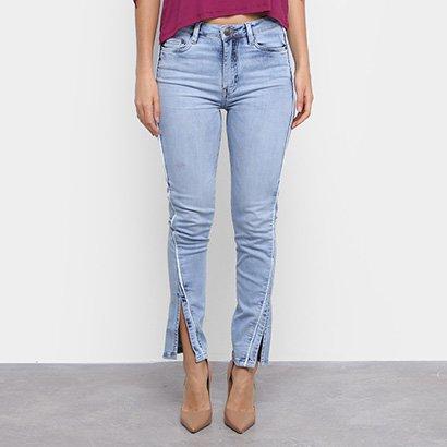 Calça Jeans Carmim Recorte Feminina