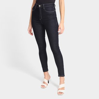 Calça Jeans Cigarrete Sawary Push Up Feminina