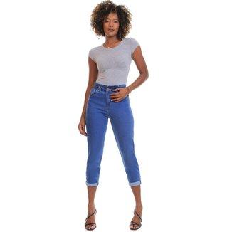 Calça jeans clochard Sawary feminina