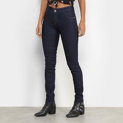 Calça Jeans-Coca Cola Mid Skinny Feminina