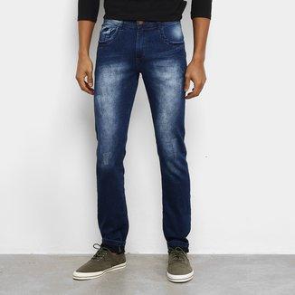 Calça Jeans Coffee Estonada Masculina