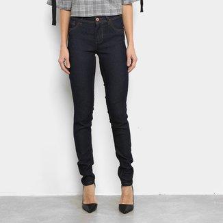Calça Jeans Coffee Skinny Lisa Feminina