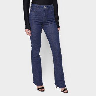 Calça Jeans Colcci Flare Cintura Alta Feminina