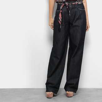 Calça Jeans Colcci Hailey Lenço Larga Feminina