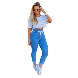 Calça Jeans Consciência Mom Hope Feminina