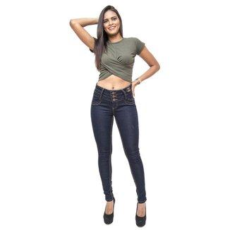 Calça Jeans Credencial Skinny Neise Feminina