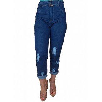 Calça Jeans Crocker Mom Feminina