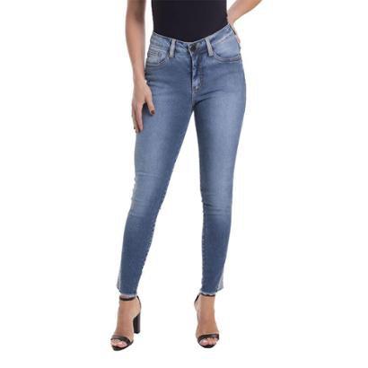 Calça Jeans Denuncia Mid Rise Skinny Feminina