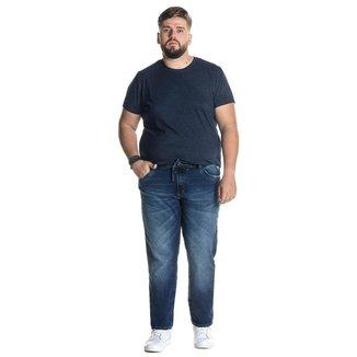 Calça Jeans Denuncia Skinny 101324244 Azul - Azul - 60